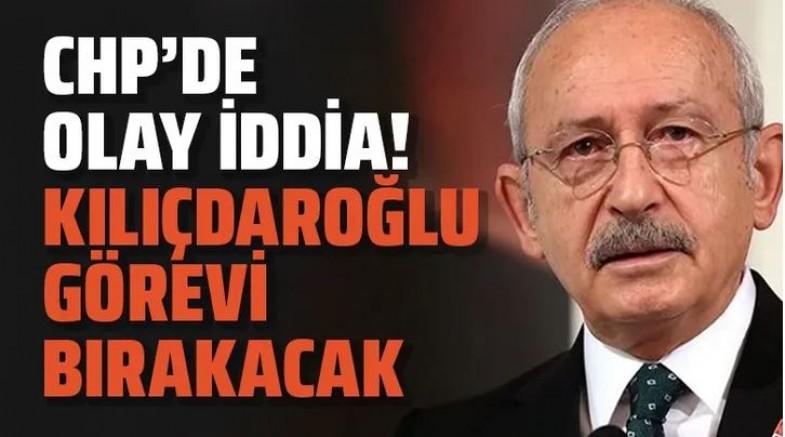 CHP İçin ilginç iddia... Kemal Kılıçdaroğlu bırakıyormu?