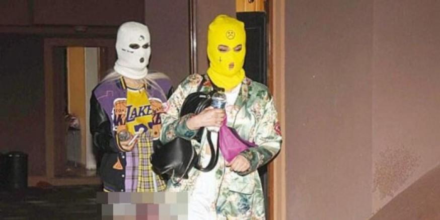 Eğlenceniz batsın... Kar maskeli koronavirüs partisi