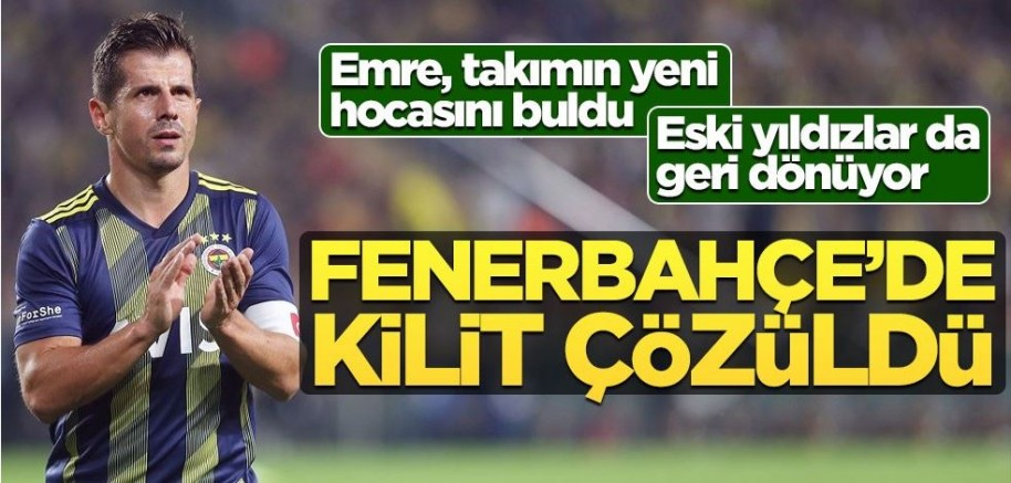 Emre Belözoğlu, Fenerbahçe'nin yeni hocasını buldu!