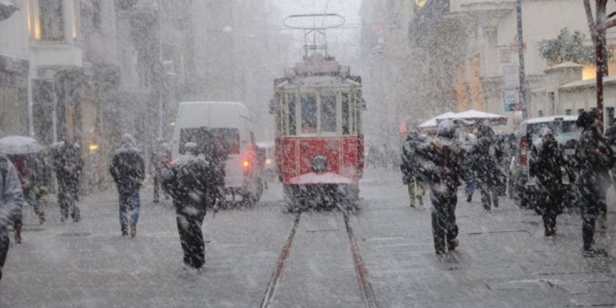İstanbullular dikkat...! Kar kapıya dayandı