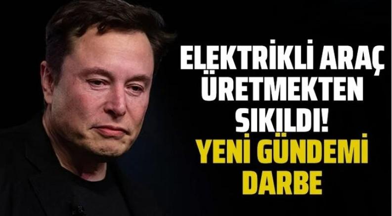 Küstah Elon Musk'tan darbe açıklaması