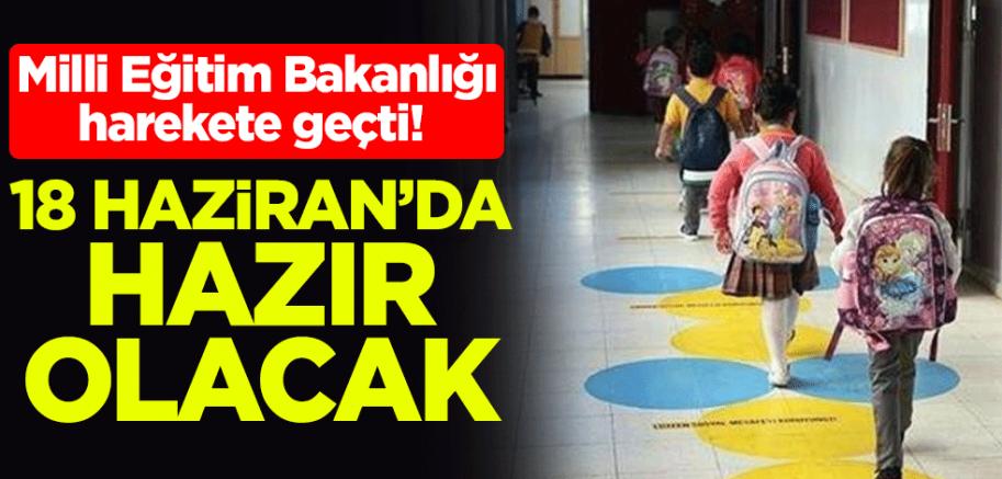 Milli Eğitim Bakanlığı harekete geçti!