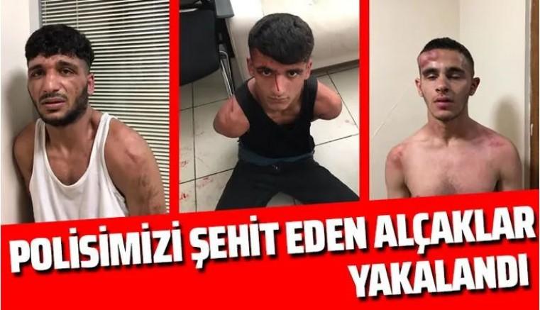 Polis katili alçaklar yakalandı