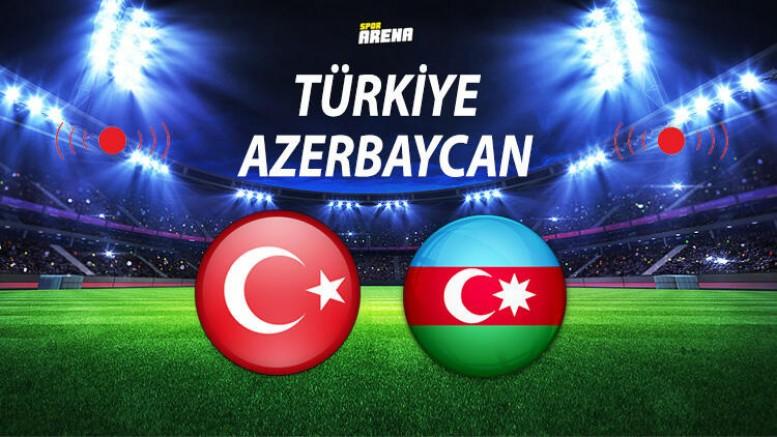 Türkiye Azerbaycan maçı saat kaçta hangi kanalda